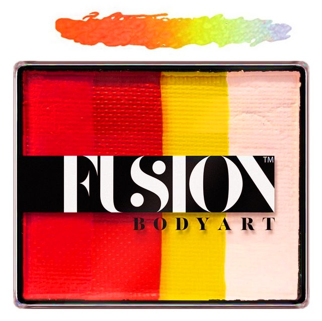 Fusion split-cake face paint - Glowing Tiger 50g