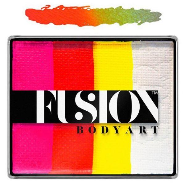 Fusion split-cake face paint - Tropical Tiger 50g