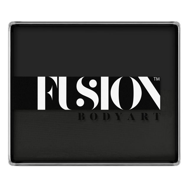 Fusion face paint - Strong Black 100g