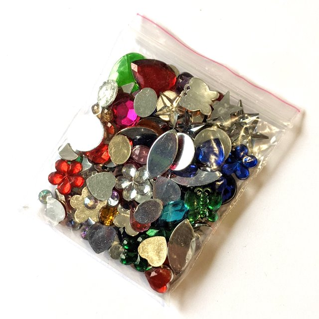 Gems and Jewels - Mixed Jewels - 100 pk