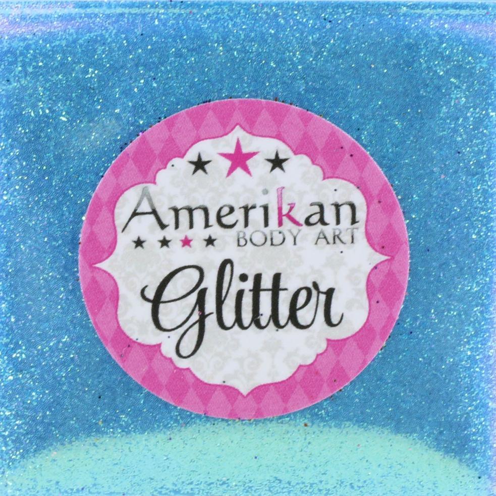 ABA Fine Cosmetic Glitter 15ml Puffer Bottle – Glacier Blue