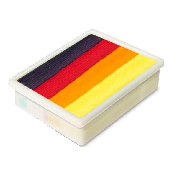 Global Colours 1 inch one-stroke face paint - Mexico 10g