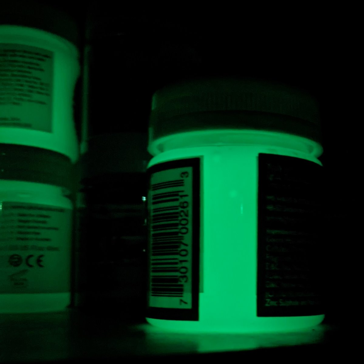 Global Colours Glow in the Dark Liquid Face and Body Paint 45ml