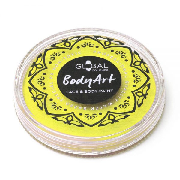 Global Colours face paint - Light Yellow 32g