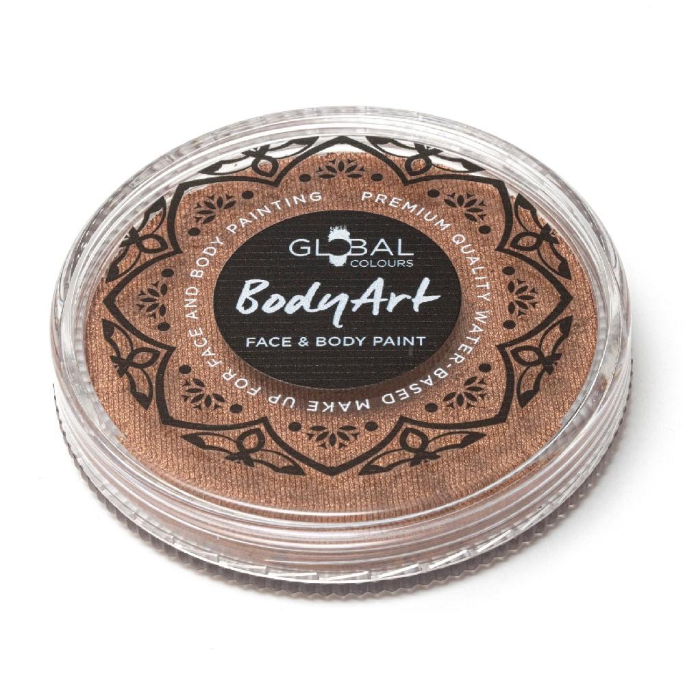 Global Colours face paint - Metallic Bronze 32g