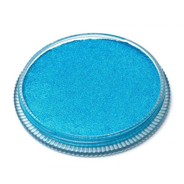 Global Colours face paint - Pearl Mediterranean Blue 32g