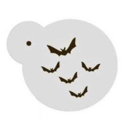 Face Painting Stencil - Flying Bats