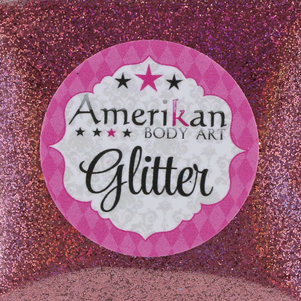 ABA Fine Cosmetic Glitter 7.5ml Jar – Holographic Pink