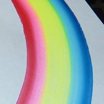 Face Paint World 1 inch one-stroke face paint - Leanne's Rainbow 30g