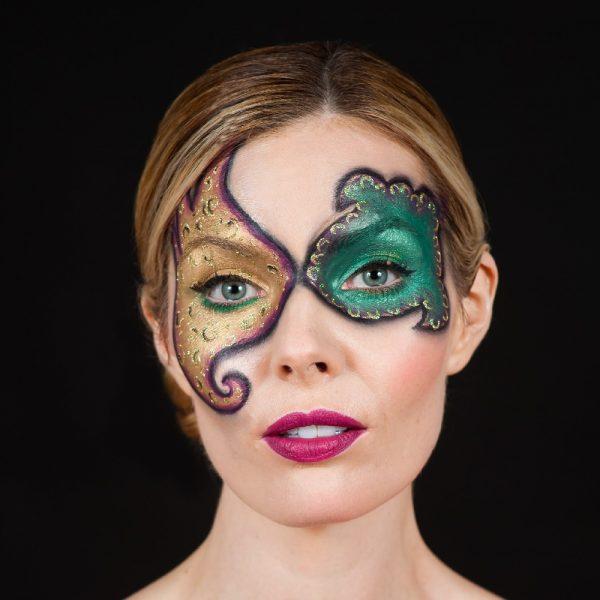 Mehron Paradise Makeup AQ - Brilliant Vert Bouteille 40g
