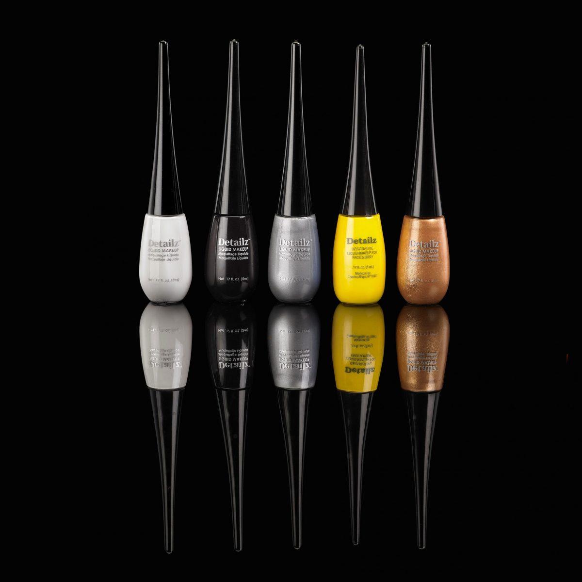 Mehron Detailz™ Fine Tip Liquid Makeup - Gold