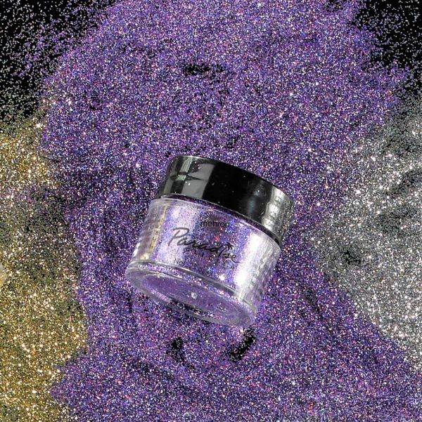 Mehron Paradise Fine Cosmetic Glitter 15ml Jar - Lavender