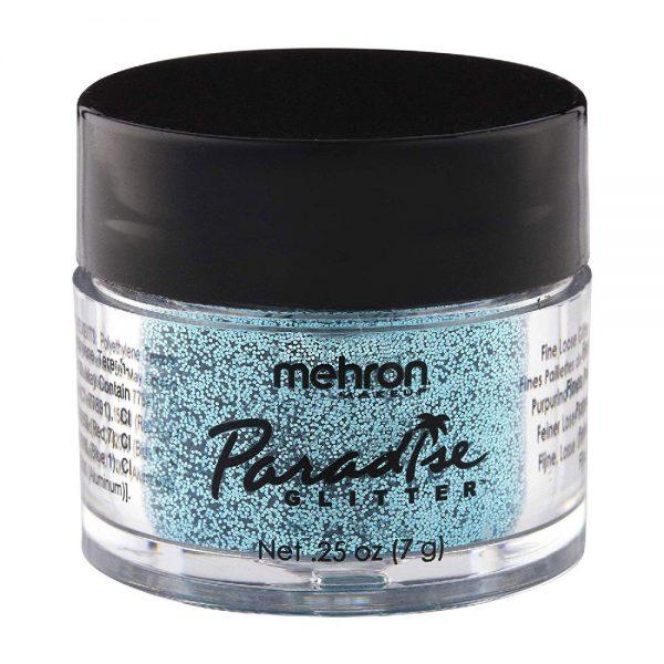 Mehron Paradise Fine Cosmetic Glitter 15ml Jar - Pastel Sky Blue