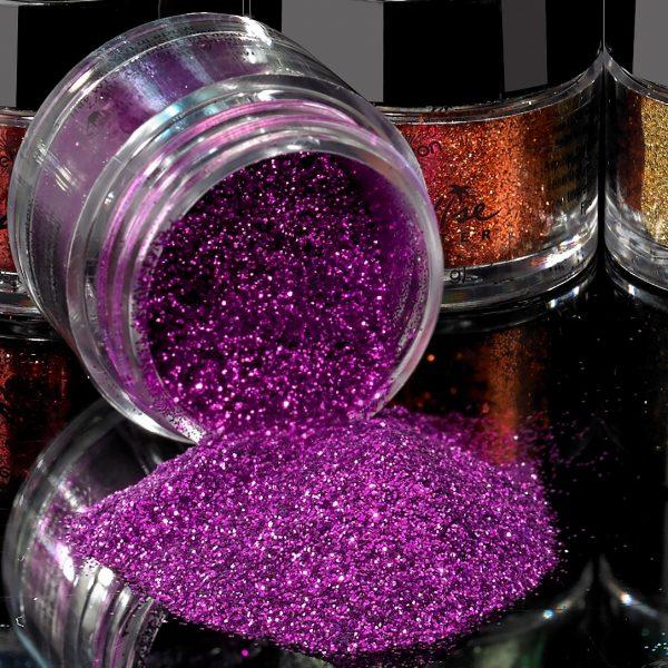 Mehron Paradise Fine Cosmetic Glitter 15ml Jar - Fuchsia