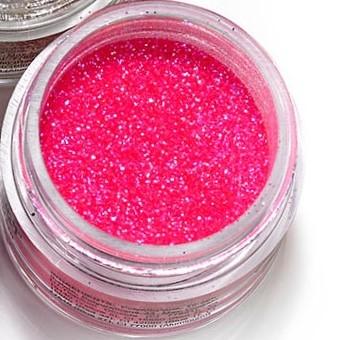 "Mehron Paradise Fine Cosmetic Glitter 15ml Jar - ""Pastel"" Pink"
