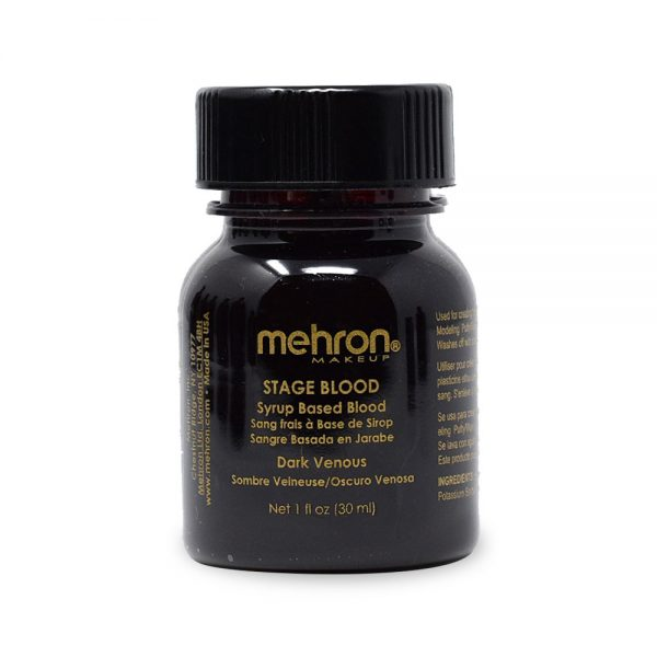 Mehron Stage Blood 30ml - Dark Venous Red
