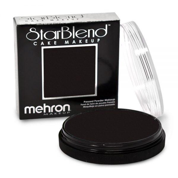 Mehron StarBlend™ Cake Makeup - Black 56g