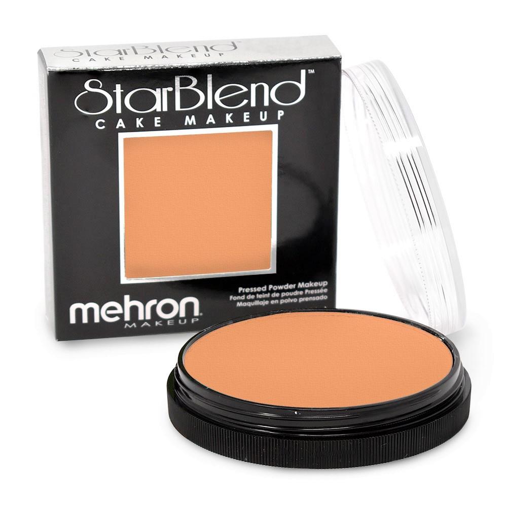 Mehron StarBlend™ Cake Makeup - Light Tan 56g