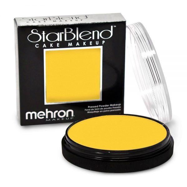 Mehron StarBlend™ Cake Makeup - Yellow 56g