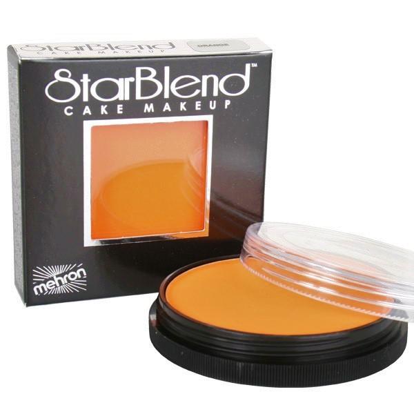 Mehron StarBlend™ Cake Makeup - Orange 56g