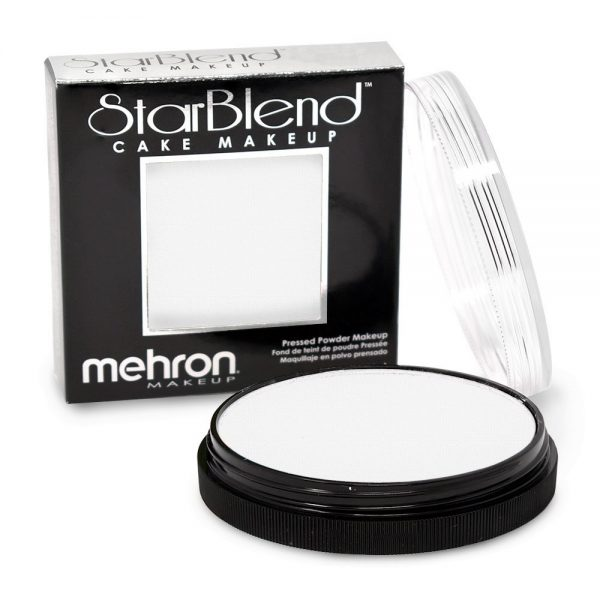 Mehron StarBlend™ Cake Makeup - White 56g