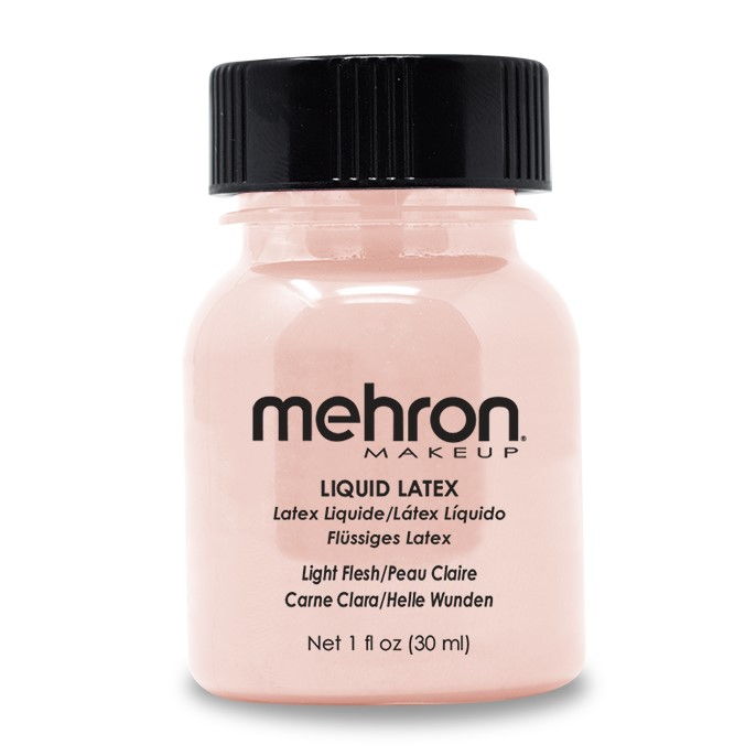 Mehron Latex Liquid 30ml - Light Flesh Coloured