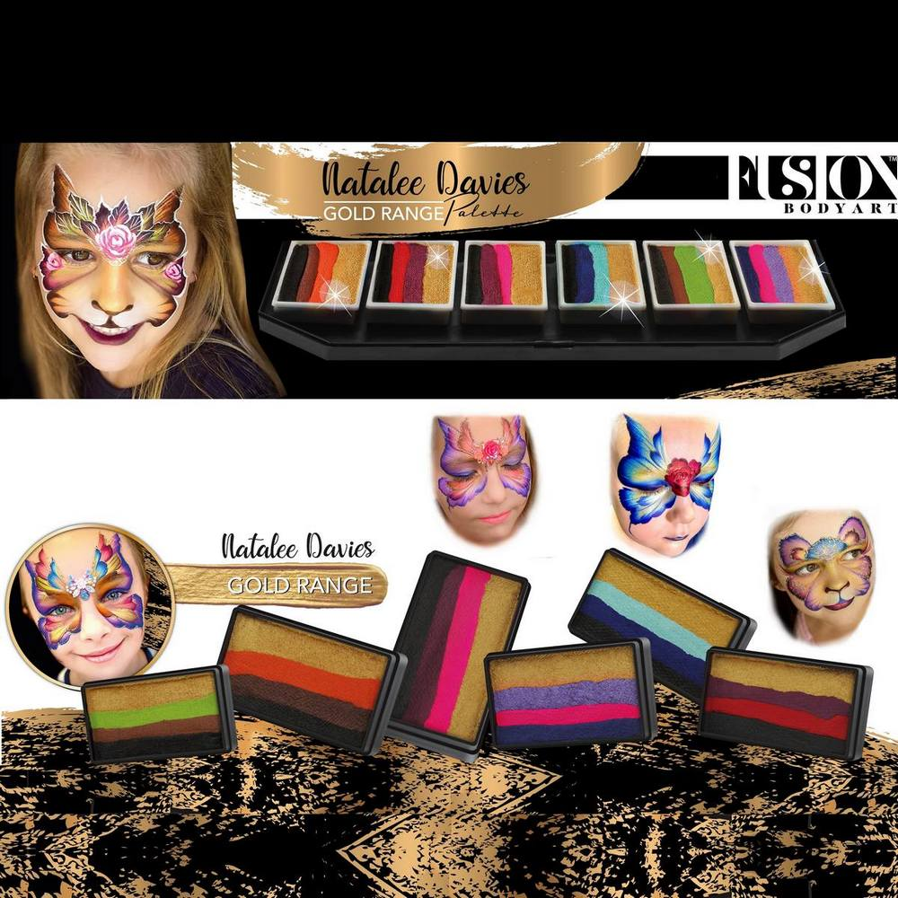 Fusion 1 inch one-stroke face paint - Violet 30g