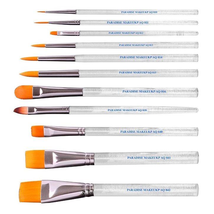 "Mehron Prisma Filbert Brush AQ818 ""Petal Tip"" : 3/8 inch"