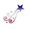 Pink Power Face Painting Stencil - Shooting Star