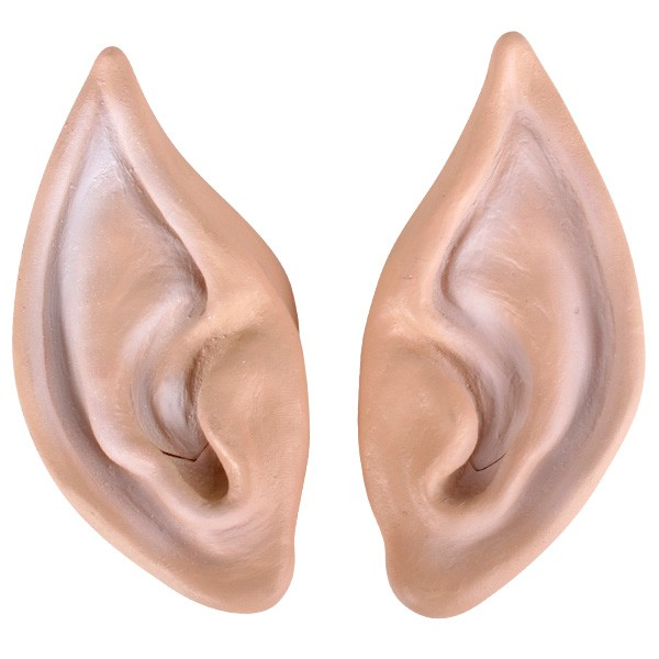 Prosthetic pointy ears 1 pair