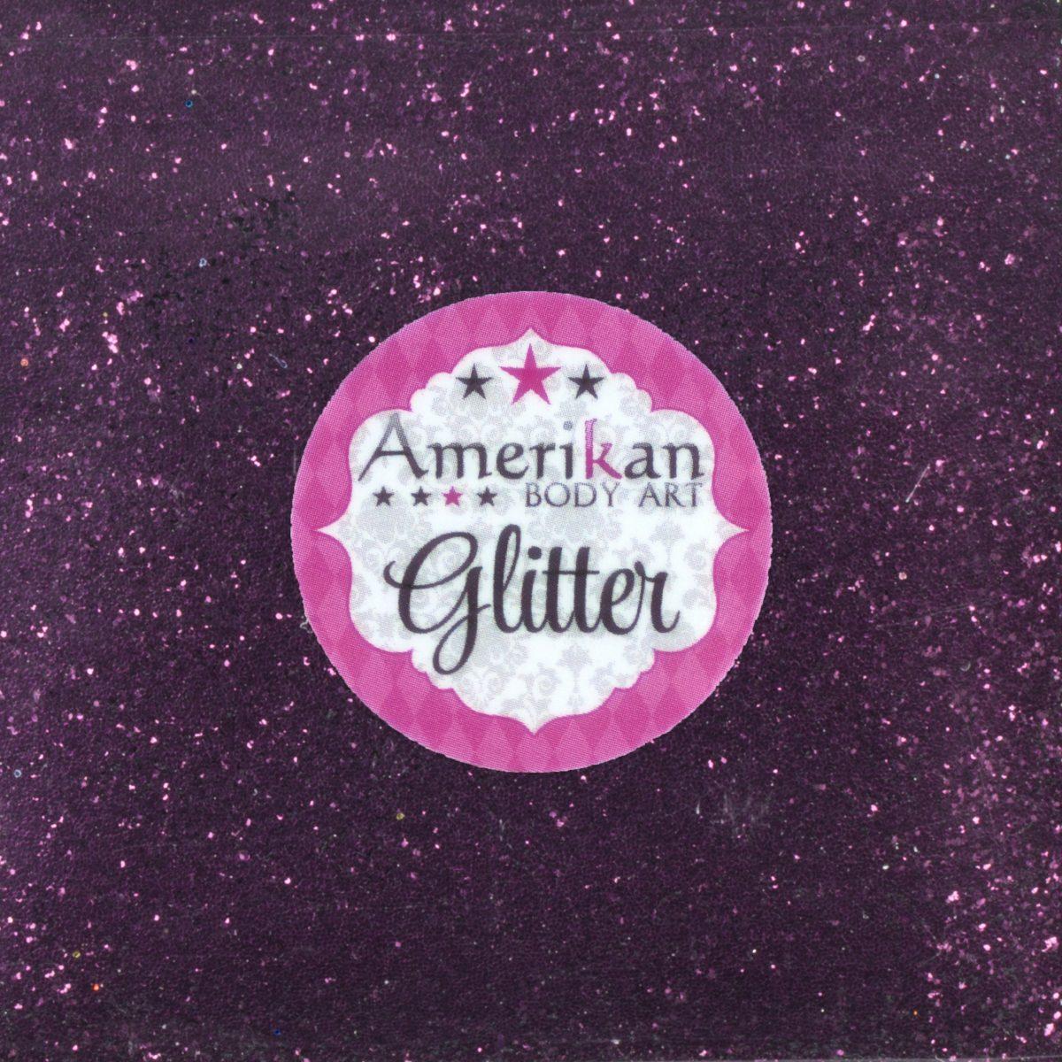 ABA Fine Cosmetic Glitter 50g Refill Bag – Plum Purple
