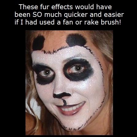 Fan Rake Brush