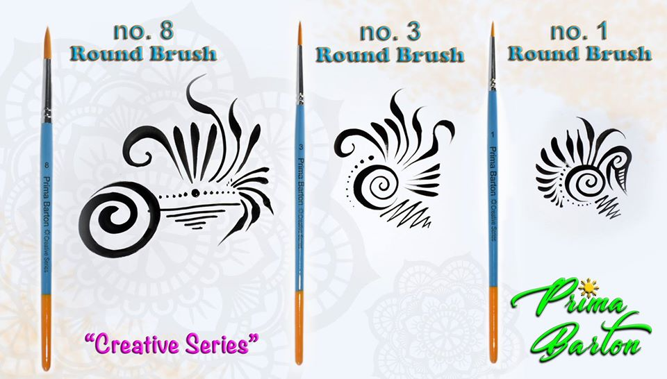 Prima Barton Round Brush #3