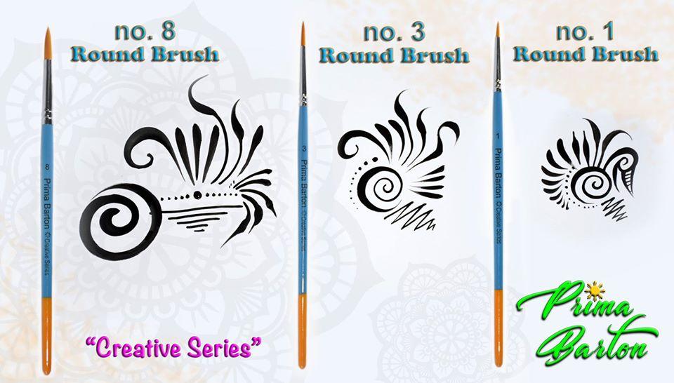 Prima Barton Round Brush #1