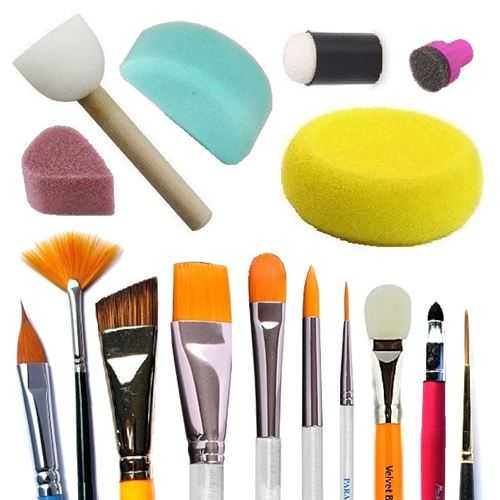 Brushes, Sponges and other Applicators