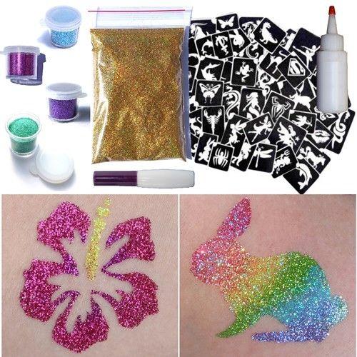 Glitter Tattoo Products