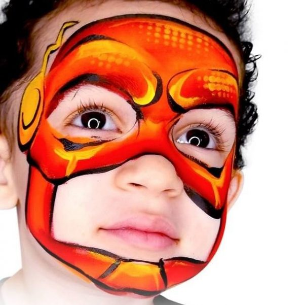 Fusion 1 inch one-stroke face paint - Bam By Onalee Rivera 30g