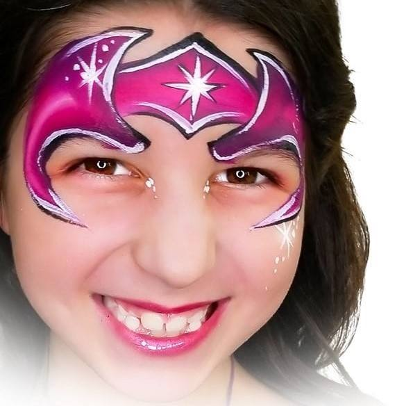 Fusion 1 inch one-stroke face paint - Kapow By Onalee Rivera 30g