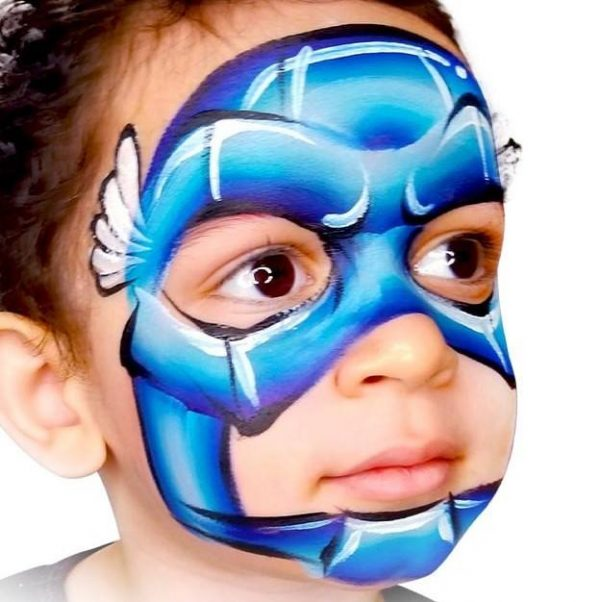 Fusion 1 inch one-stroke face paint - Whaam By Onalee Rivera 30g