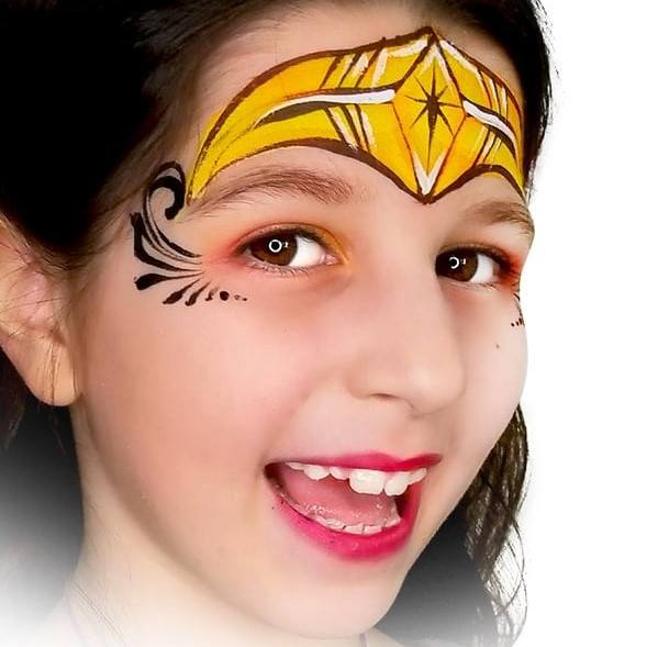 Fusion 1 inch one-stroke face paint - Zap By Onalee Rivera 30g
