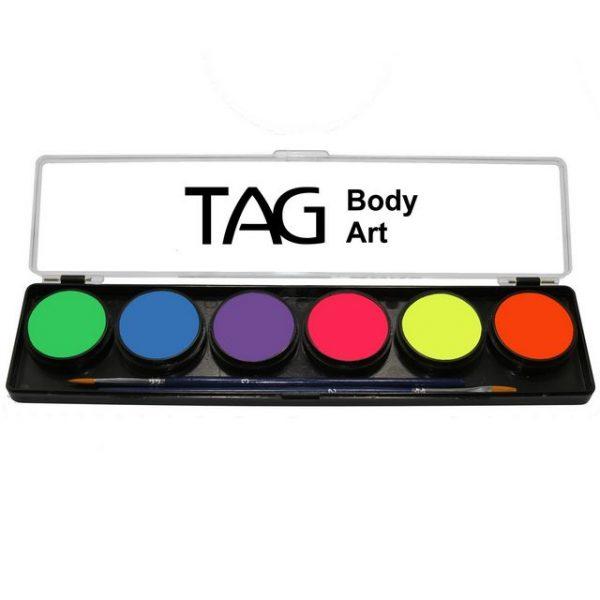 TAG 6 Colour Sampler Palette - Neon