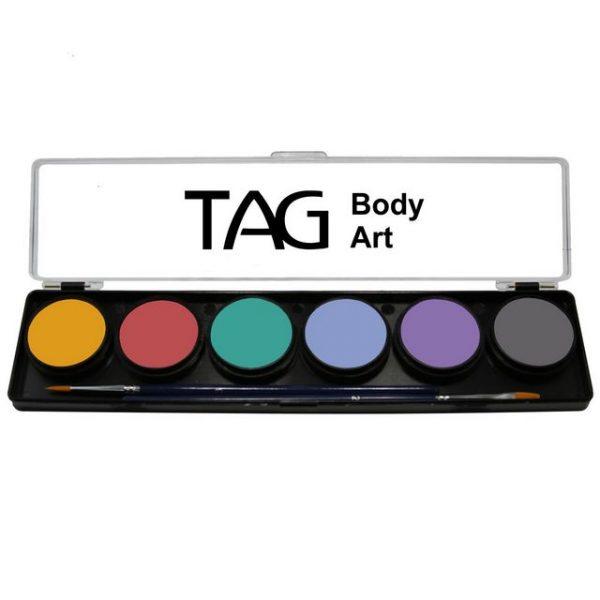 TAG 6 Colour Sampler Palette - Pastel Regular