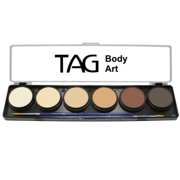 TAG 6 Colour Sampler Palette - Skin Tones