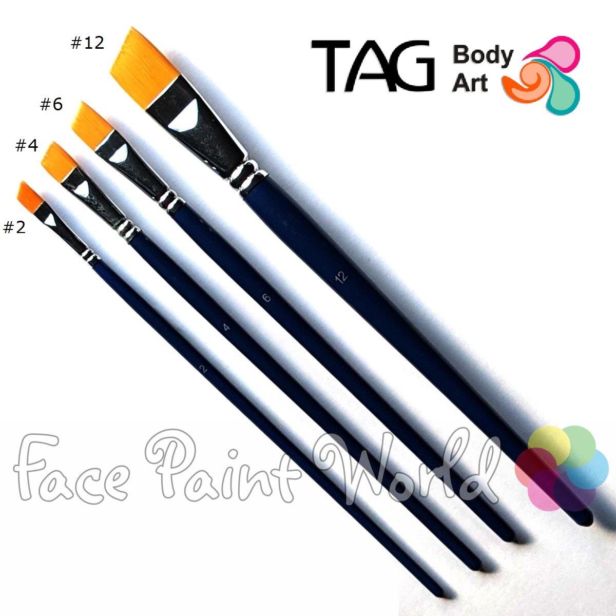 TAG Angular Shader Brush #06 : 1/2 inch
