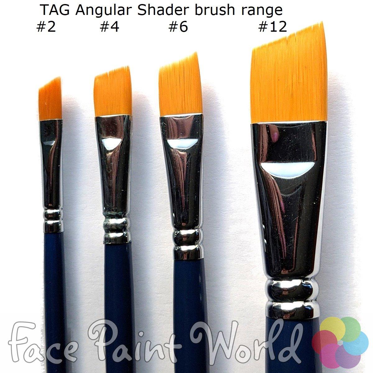 TAG Angular Shader Brush #12 : 3/4 inch