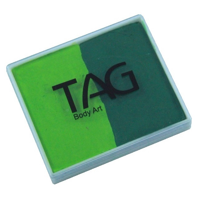 TAG face paint - Light Green and Green 50g