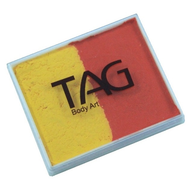 TAG face paint - Orange and Yellow 50g