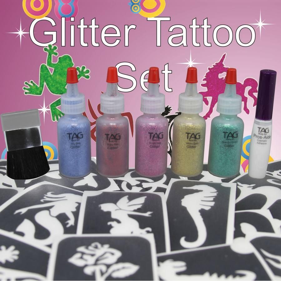 TAG Party Glitter Tattoo Kit