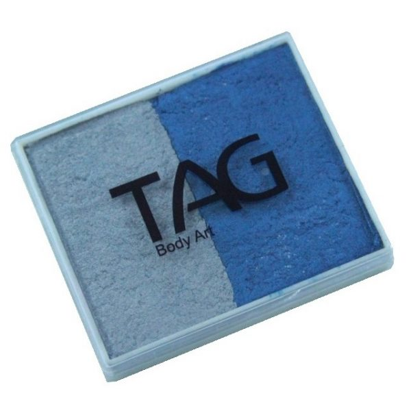 TAG face paint - Pearl Blue and Pearl Silver 50g