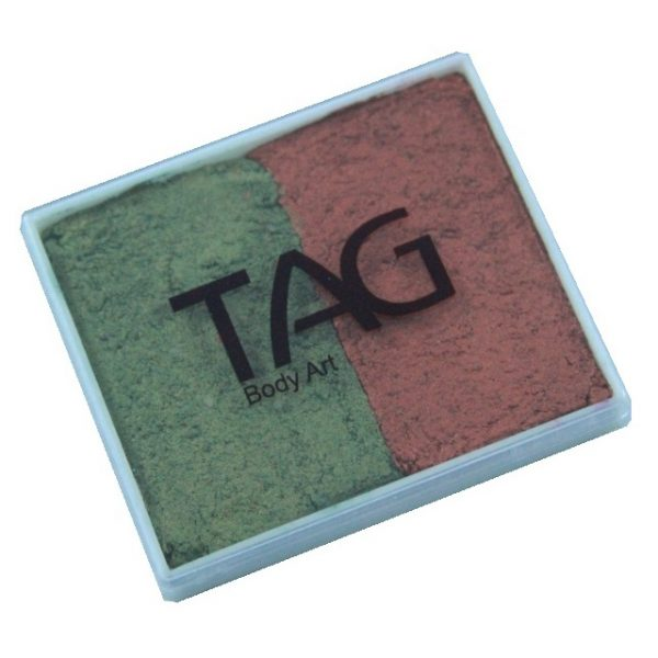 TAG face paint - Pearl Copper and Pearl Bronze Green 50g